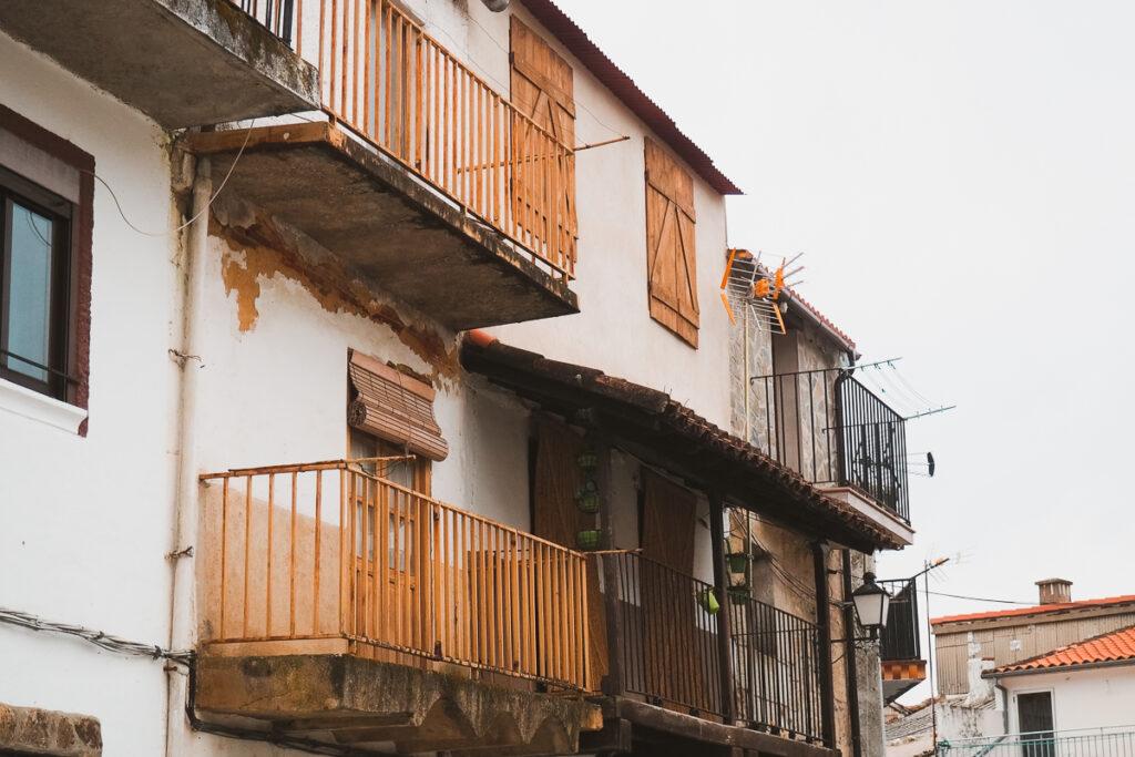 Casas típicas del Valle del Ambroz