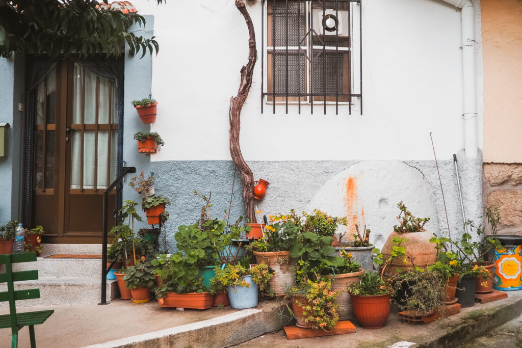 Casas de Baños de Montemayor