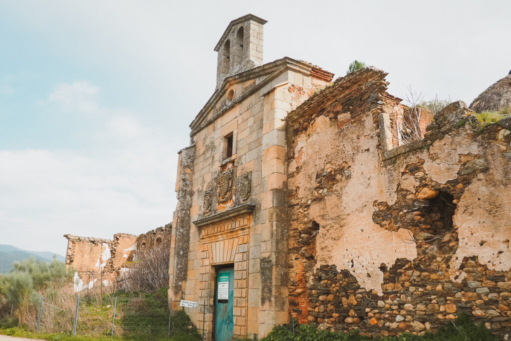 Convento de Nuestra Señora de los Ángeles de la Bien Parada en Abadía