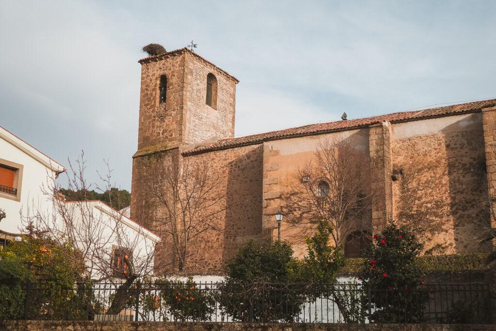 Iglesia de San Catalina en Baños de Montemayor