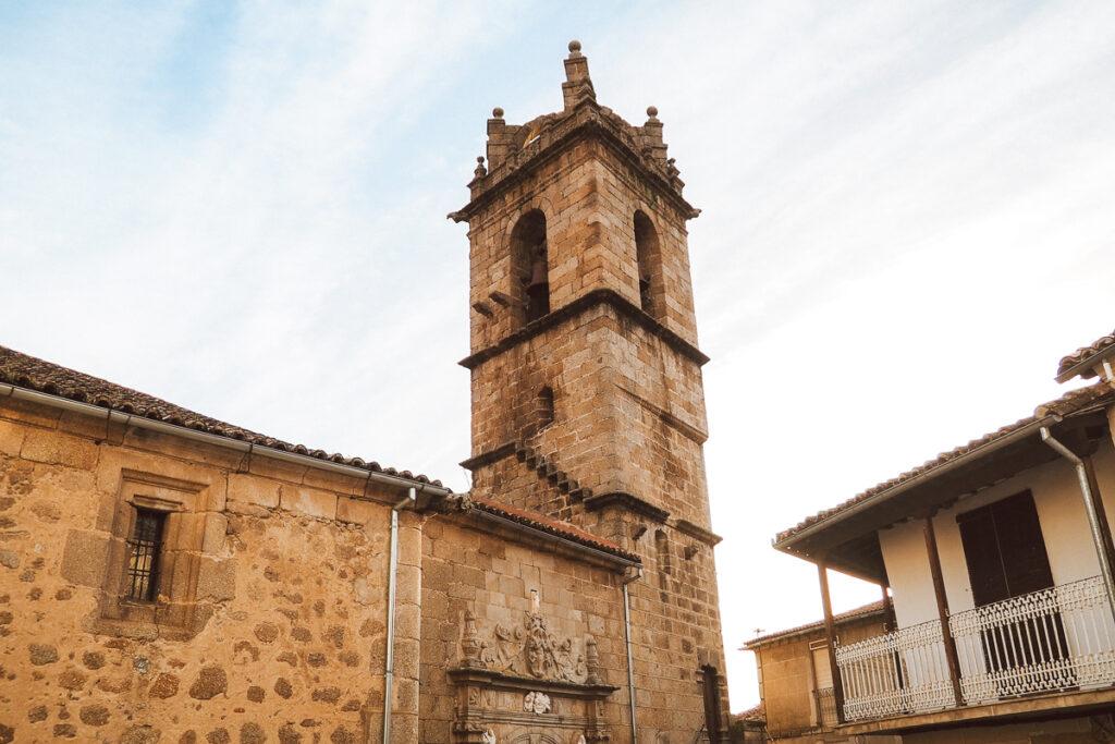 Iglesia de Santa María de la Asunción en Baños de Montemayor
