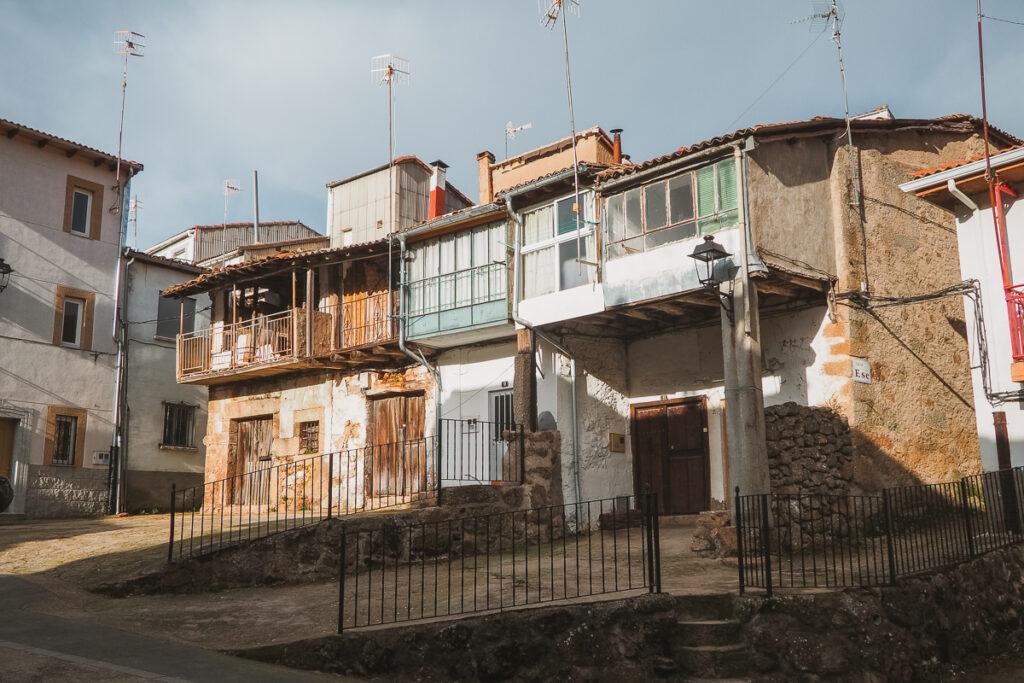 Barrio de la Plaza en La Garganta