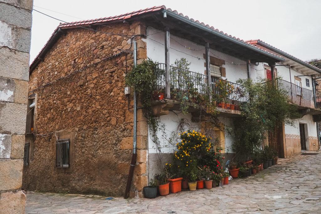 Arquitectura tradicional en Segura del Toro