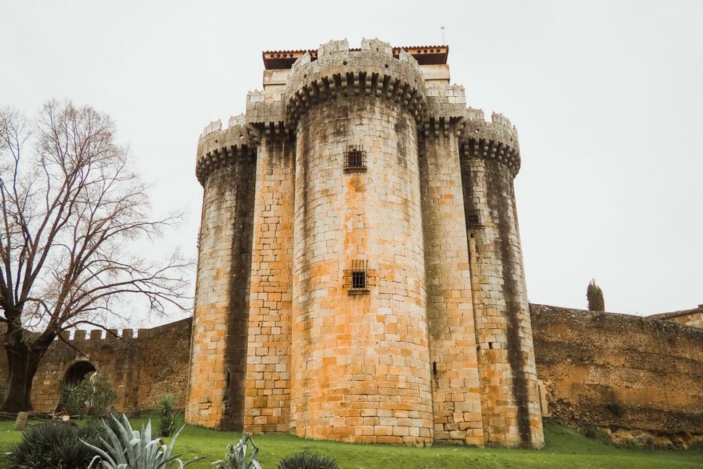 Castillo de Granadilla en Extremadura