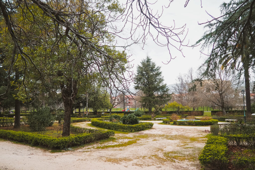 Parque municipal de Hervás, Cáceres