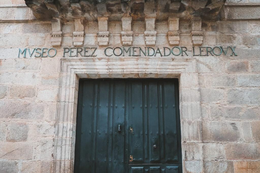 Museo Pérez Comendador-Leroux en Hervás