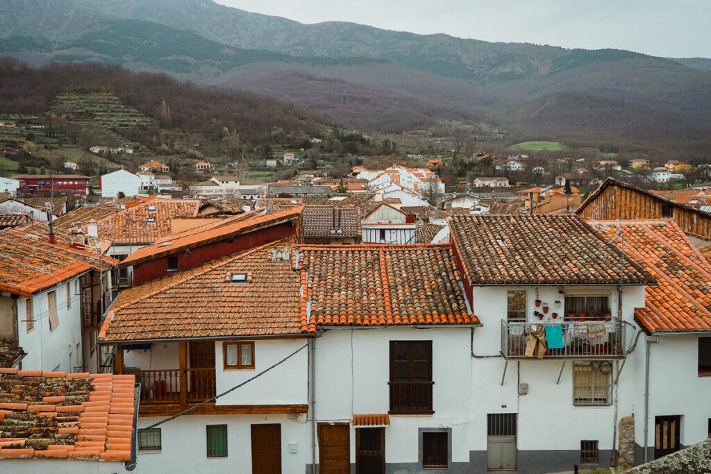 Vistas de Hervás desde la Iglesia de Santa María de Aguas Vivas