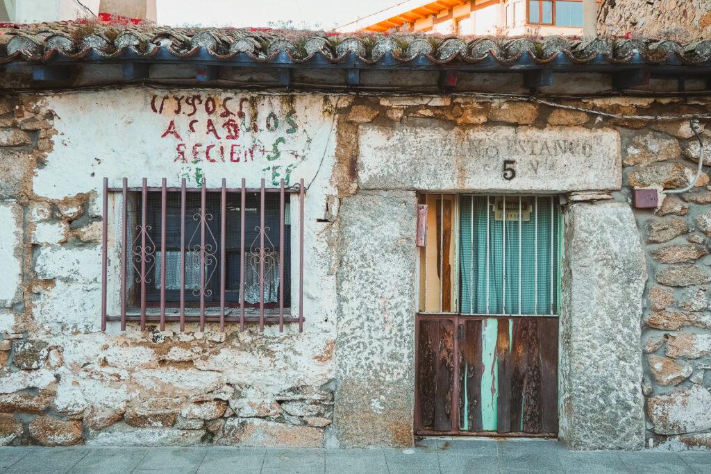 Arquitectura popular en Navacerrada
