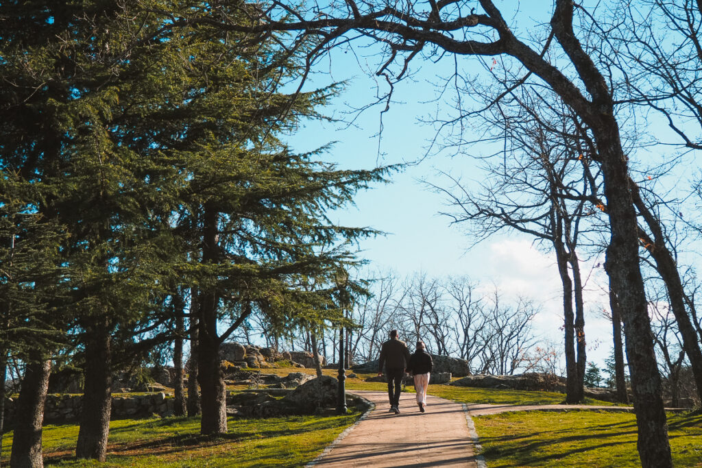 Agradable paseo por el Parque Muñoyerro en Navacerrada