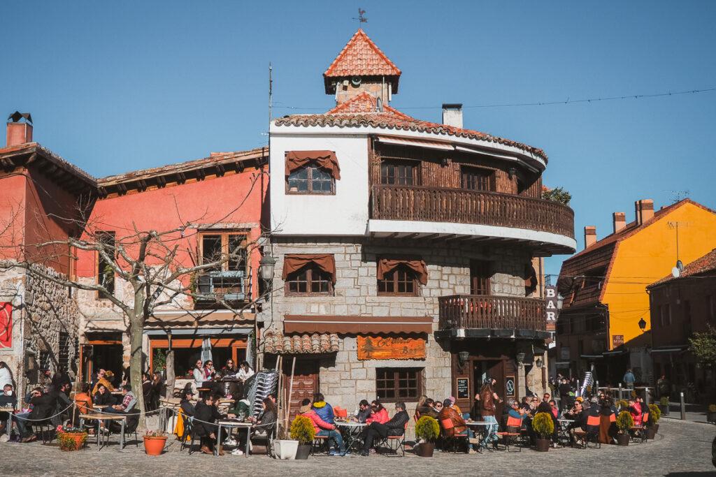Plaza del Doctor Gereda en Navacerrada