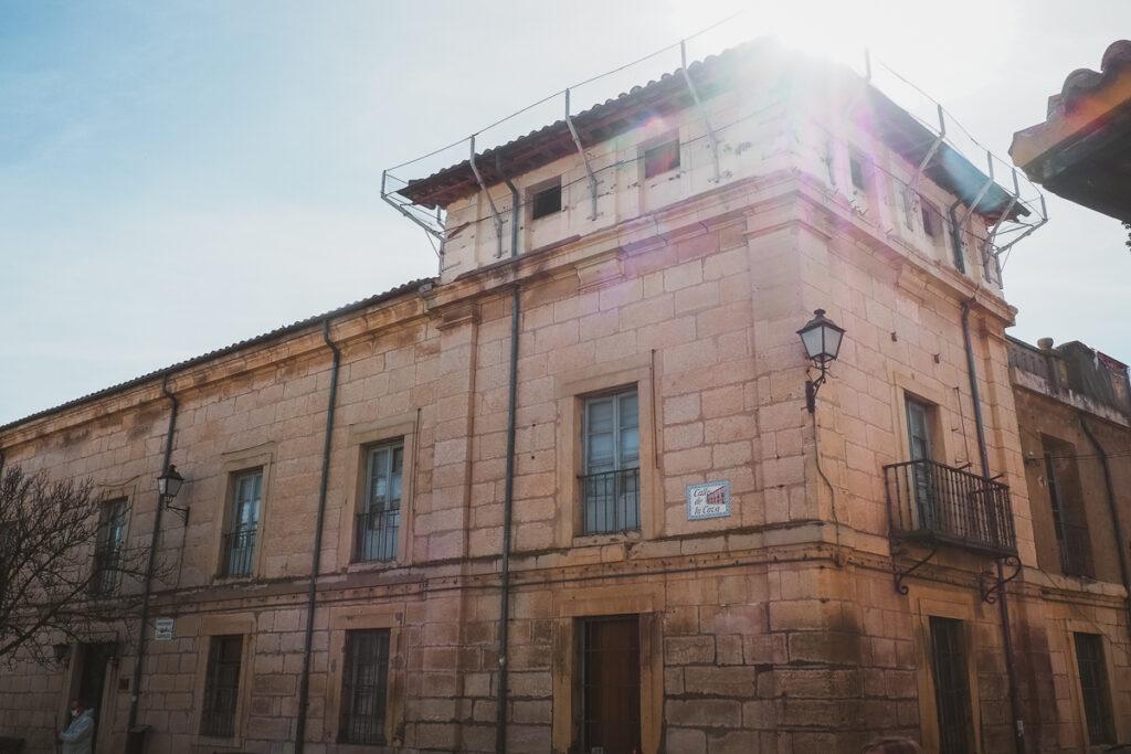 Palacio Arteaga o del Infantado en Torrelaguna