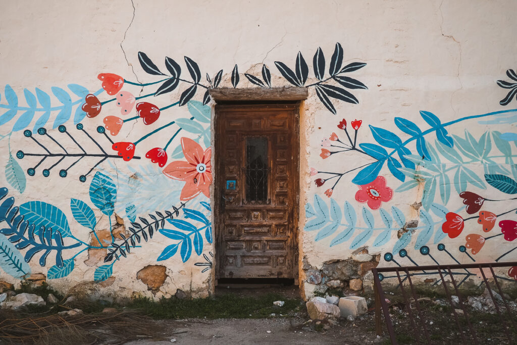 Pinturas murales en Torremocha del Jarama