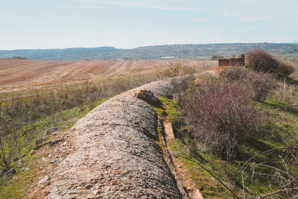 Canal de Cabarrús en Torremocha del Jarama