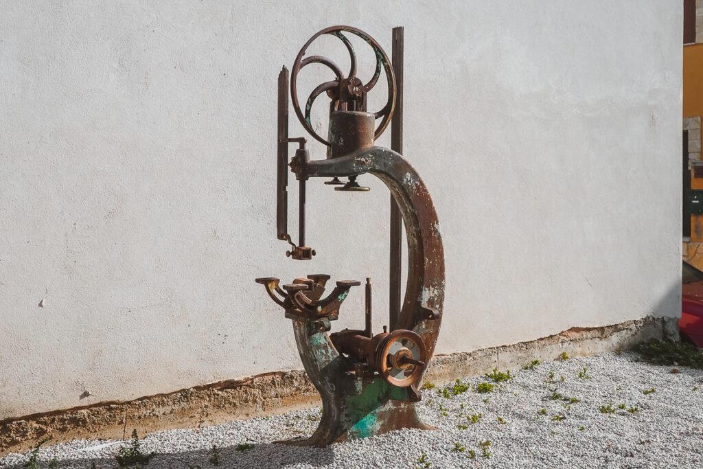 Prensadora de agua de Torremocha del Jarama