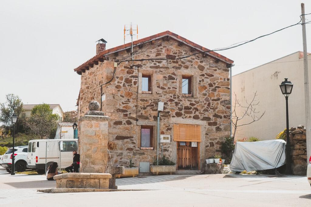 Arquitectura tradicional en Cervera de Buitrago