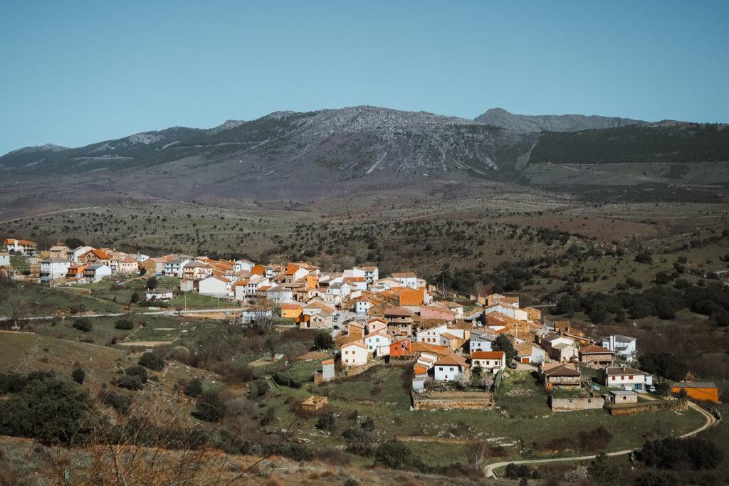 Vista de Paredes de Buitrago