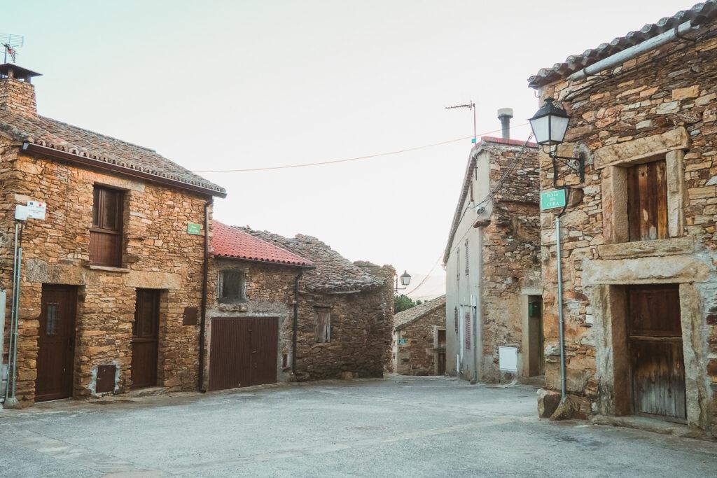Arquitectura tradicional en Paredes de Buitrago